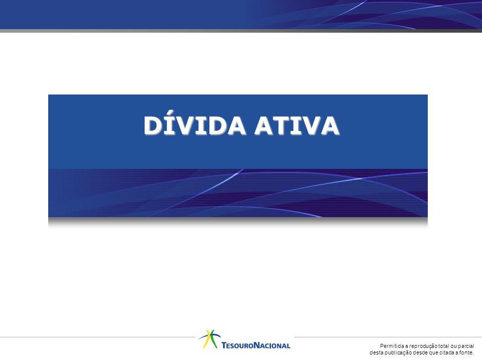 Permitida a reprodução total ou parcial desta publicação desde que citada a fonte. DÍVIDA ATIVA