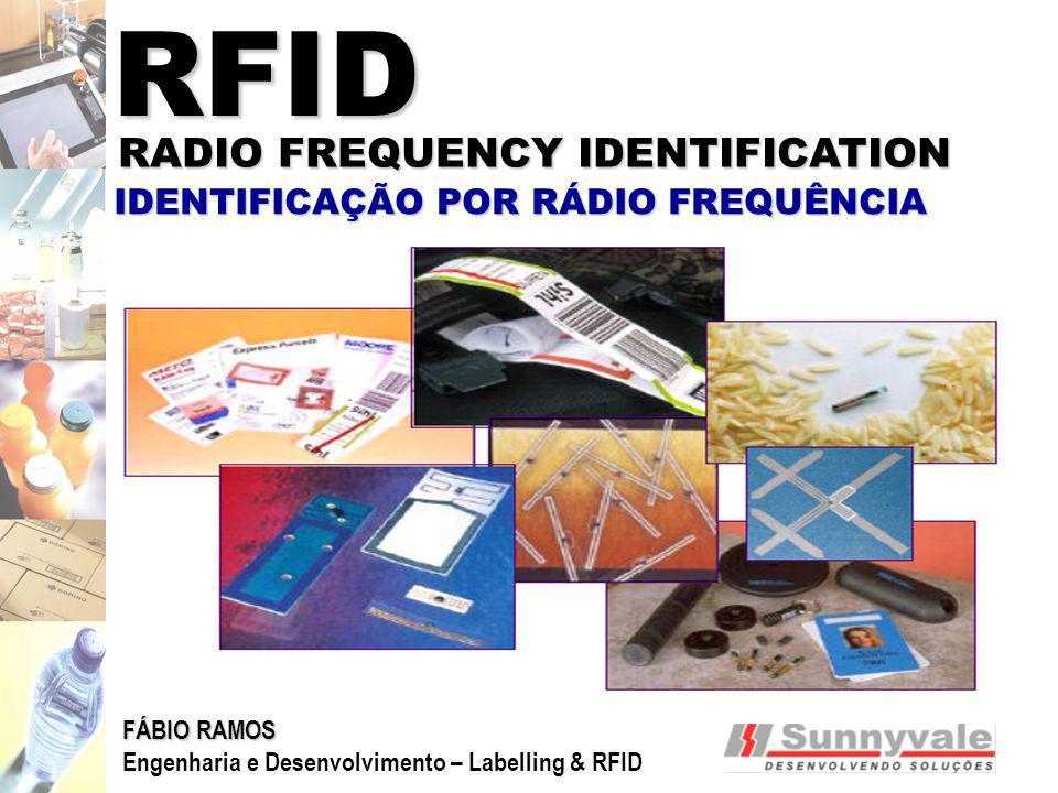 RFID RADIO FREQUENCY IDENTIFICATION IDENTIFICAÇÃO POR RÁDIO FREQUÊNCIA FÁBIO RAMOS Engenharia e Desenvolvimento – Labelling & RFID