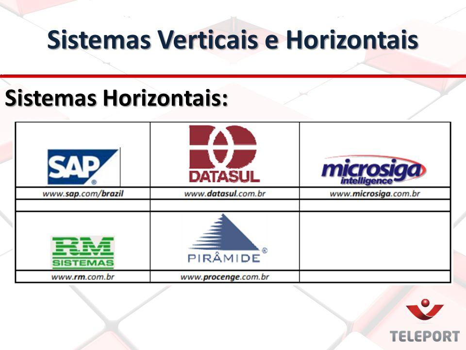 Sistemas Horizontais: Sistemas Verticais e Horizontais