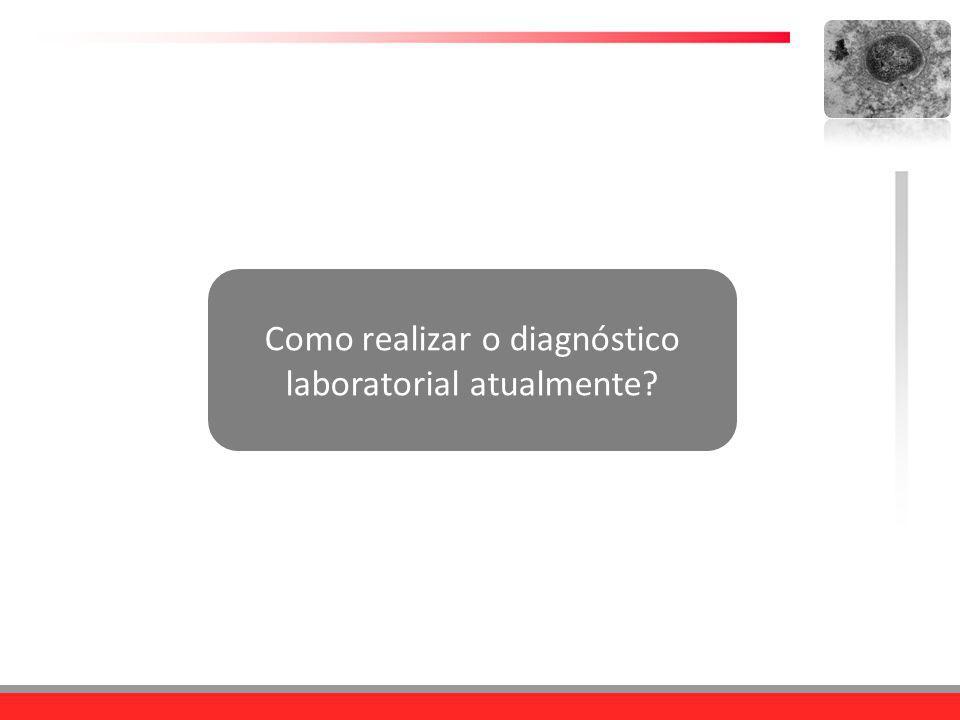 Como realizar o diagnóstico laboratorial atualmente?