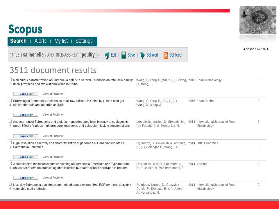 3511 document results Acesso em 10/10