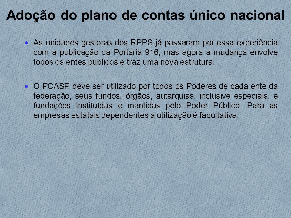 Novos modelos e demonstrativos As unidades gestoras dos RPPS continuam tendo de elaborar as demonstrações exigidas pelo Ministério da Previdência.