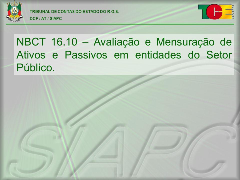 TRIBUNAL DE CONTAS DO ESTADO DO R.G.S.