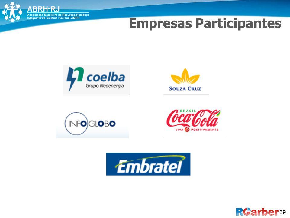 Empresas Participantes 39