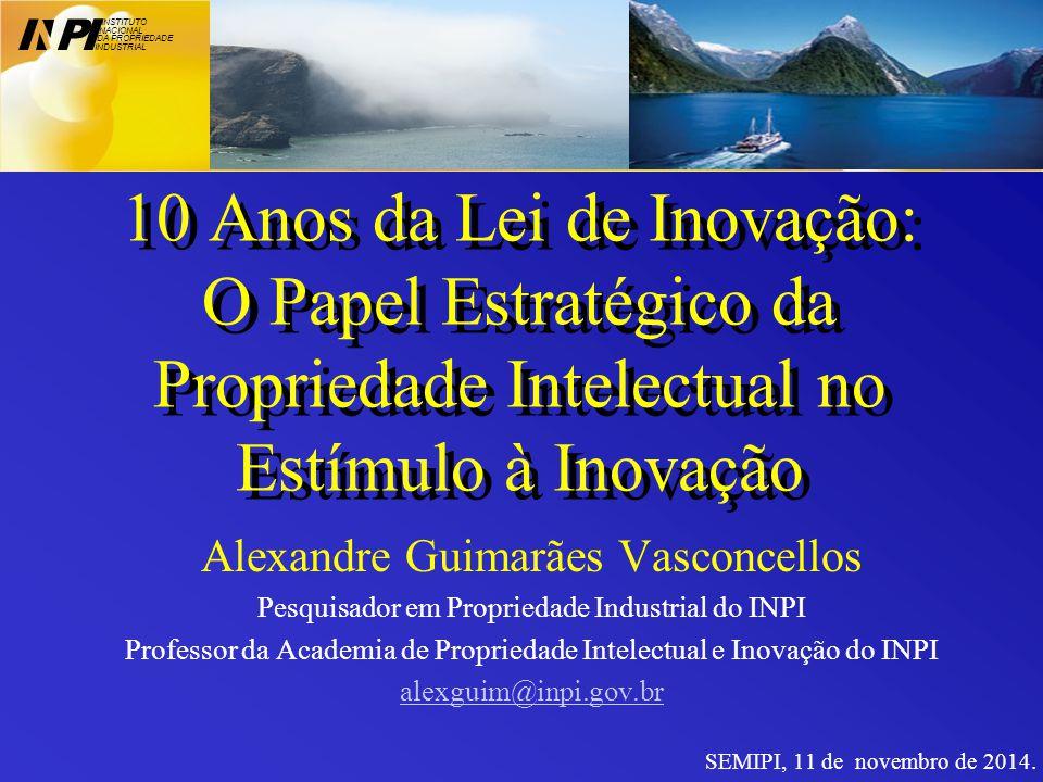 Alguns antecedentes da Lei de Inovação (10.973/2004) 1998