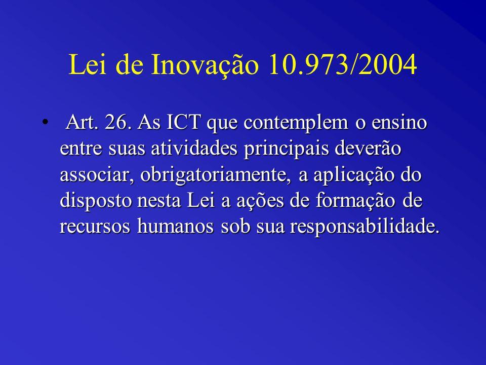 Resultados: Total de depósitos entre 1995 e 201018.349 Cartas-patentes expedidas359 Patentes com prioridade estrangeira96,4% Patentes com prioridade brasileira3,6% Tempo médio para a concessão11,5 anos
