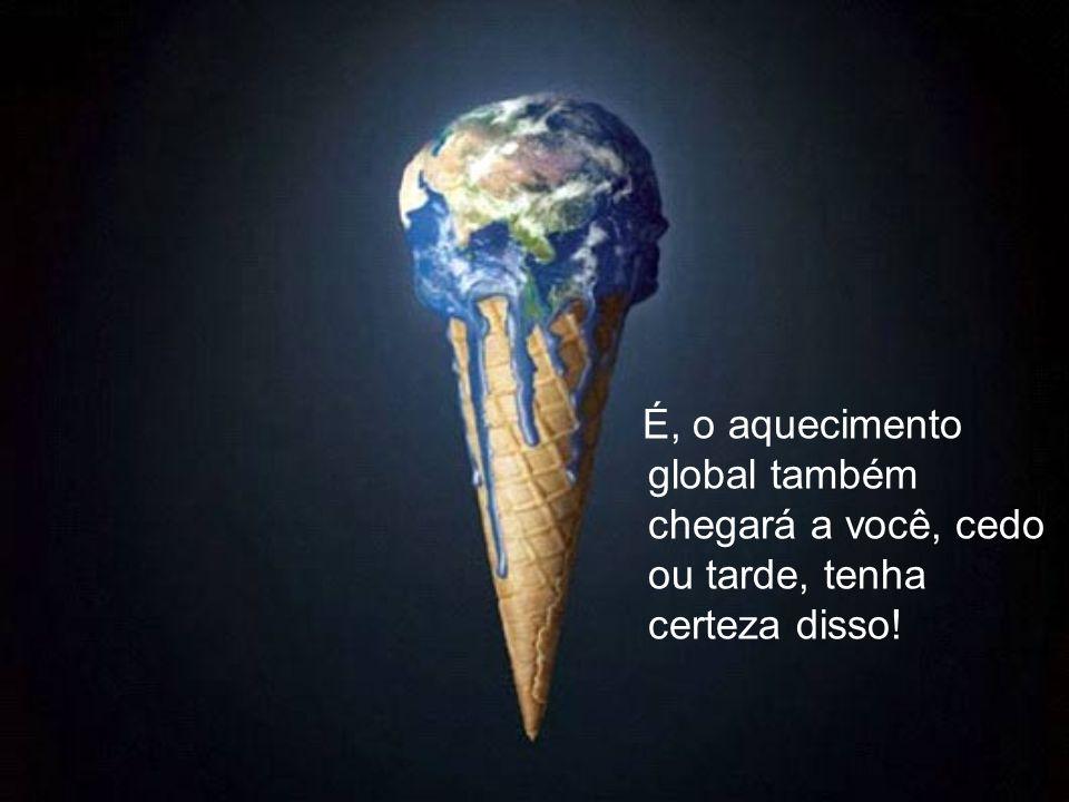 E talvez você já não seja o único peixe fora d'água, e só mais um pagando pela indiferença com o planeta.