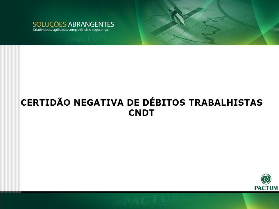2 CERTIDÃO NEGATIVA DE DÉBITOS TRABALHISTAS CNDT