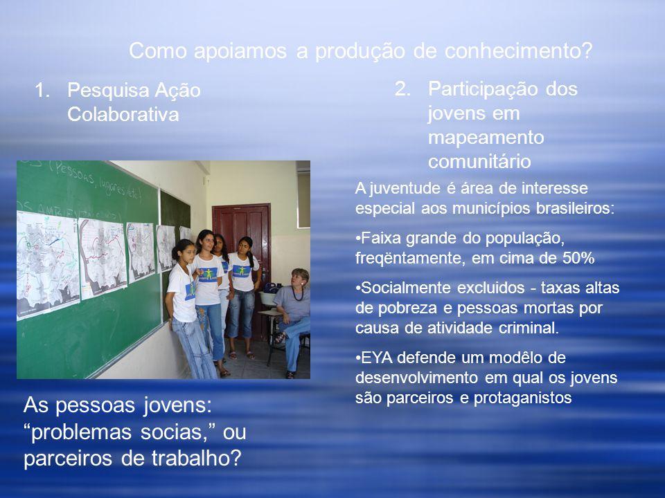 Mapeamento Comunitário na Construção de Consorciamento Que é Mapeamento Comunitário.