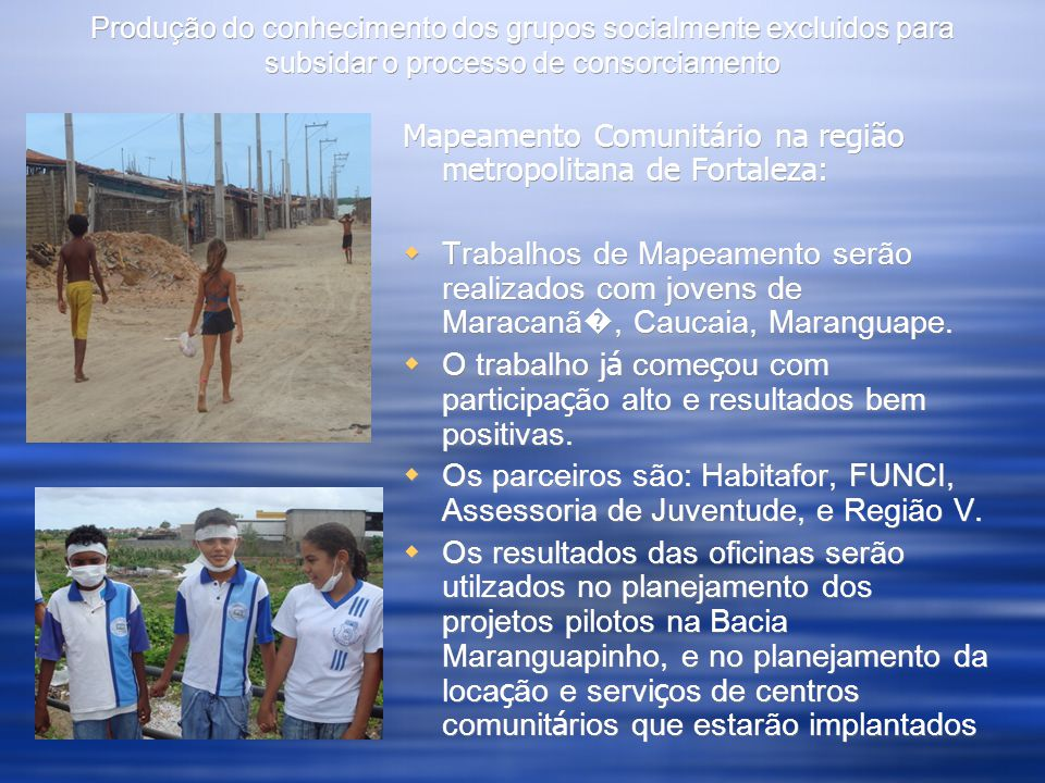 Community Youth Mapping in Santarém