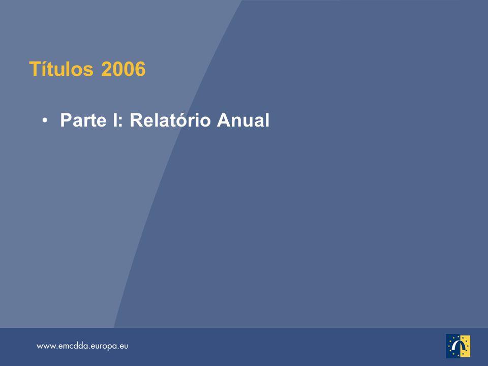 Títulos 2006 Parte I: Relatório Anual