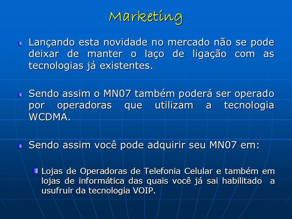 Lançando esta novidade no mercado não se pode deixar de manter o laço de ligação com as tecnologias já existentes.