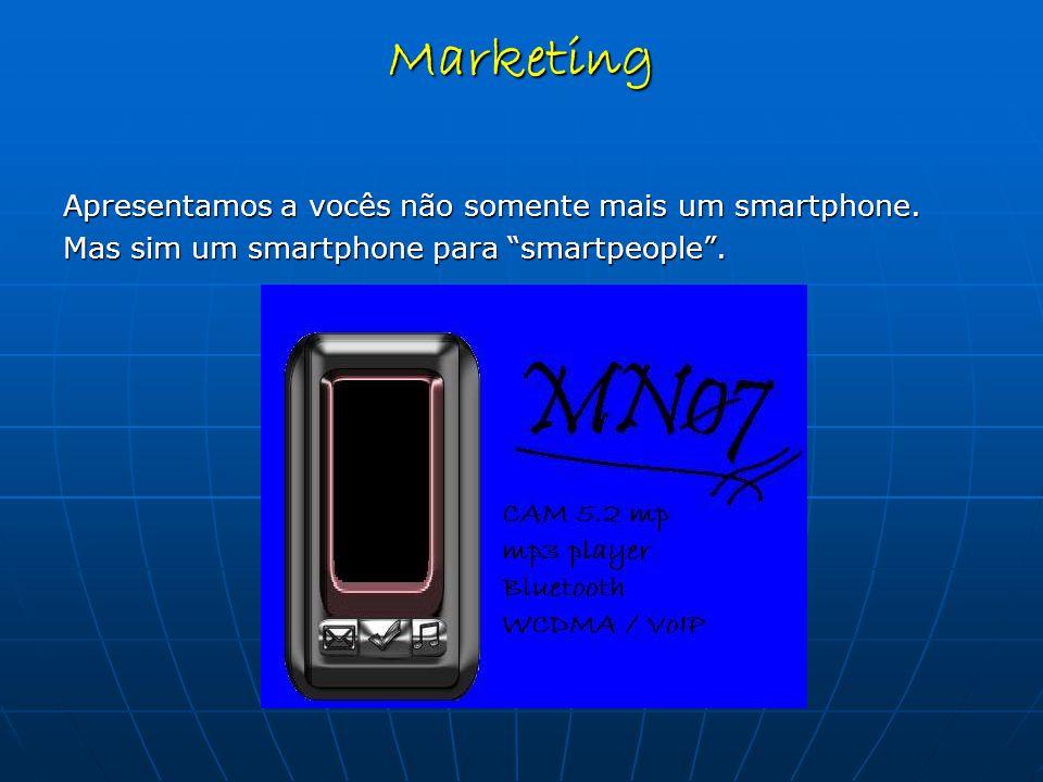Apresentamos a vocês não somente mais um smartphone.