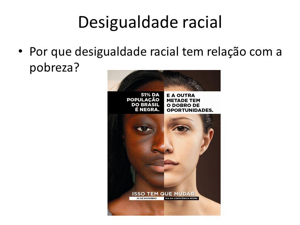 Por que desigualdade racial tem relação com a pobreza?