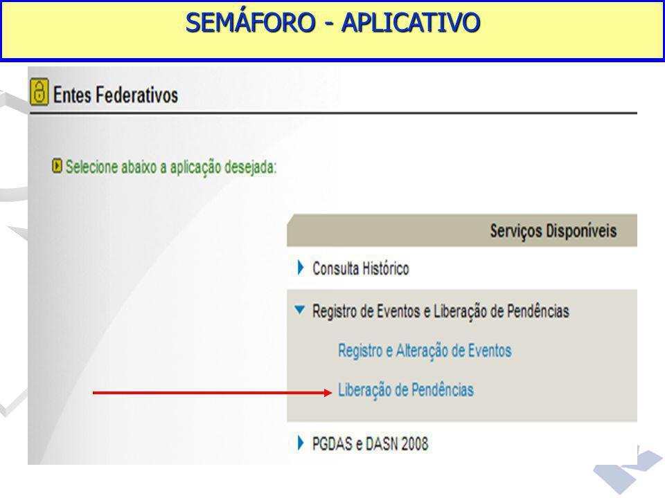 SEMÁFORO - APLICATIVO