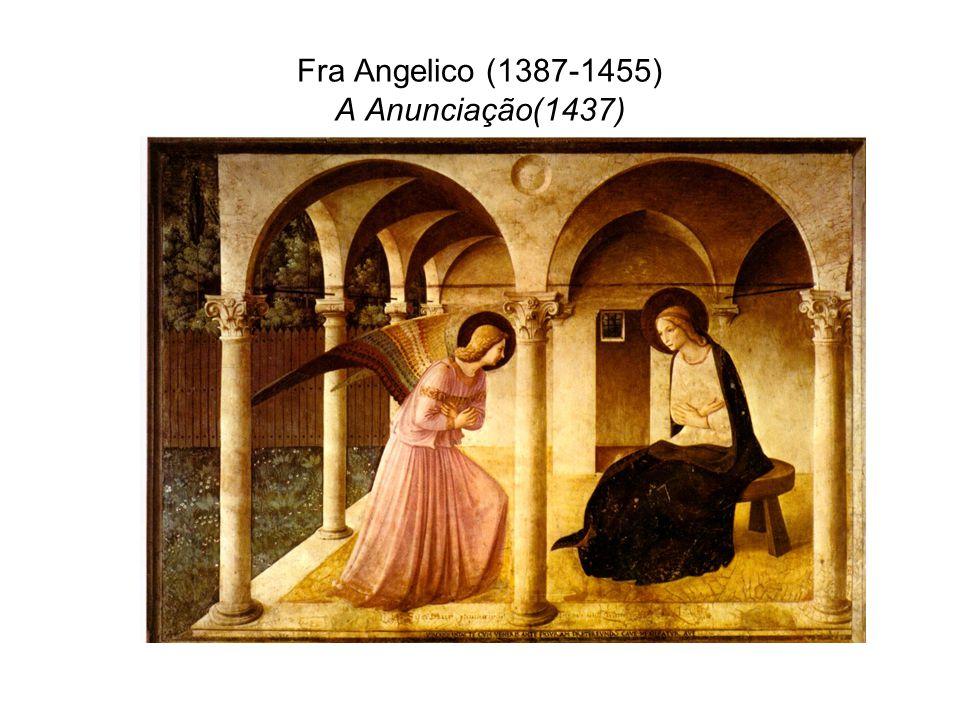 Fra Angelico (1387-1455) A Anunciação(1437)