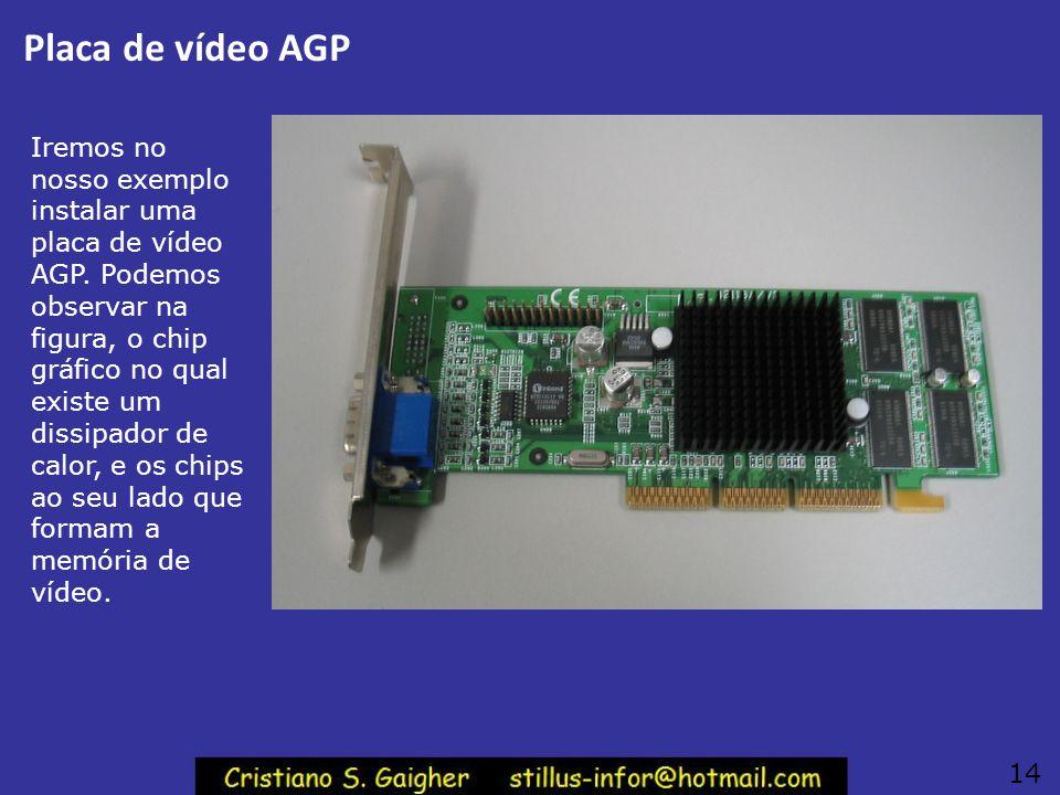 Conexão da Placa de vídeo 13