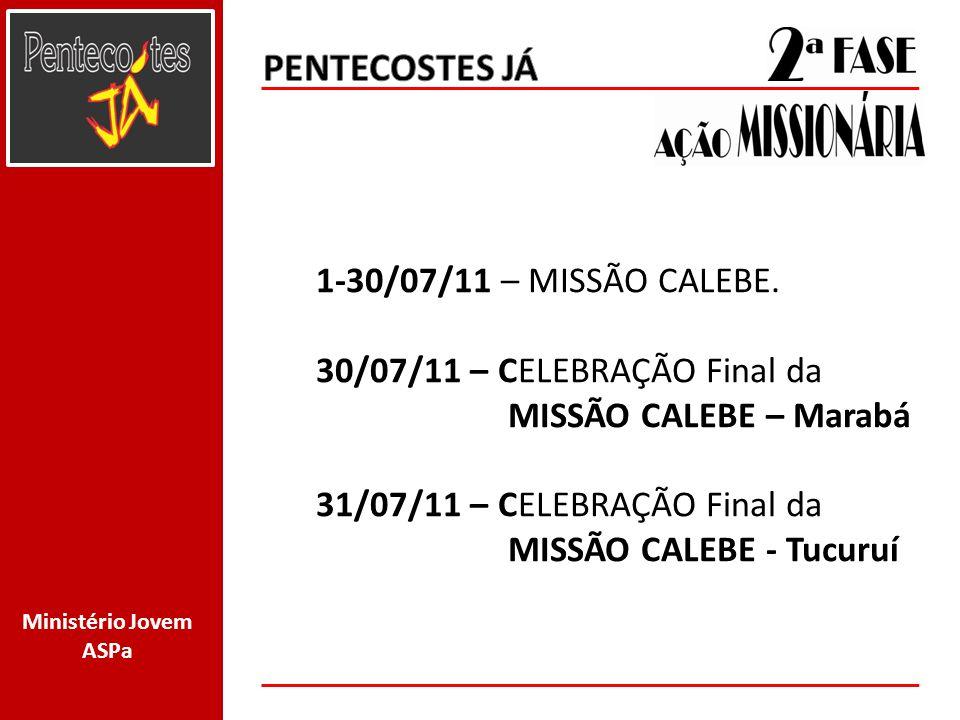 Ministério Jovem ASPa 13/08/11– Início de Classe pós batismal.