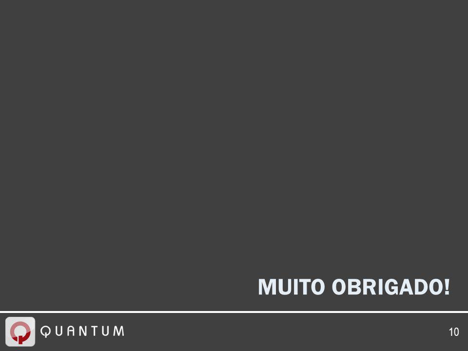 10 MUITO OBRIGADO!