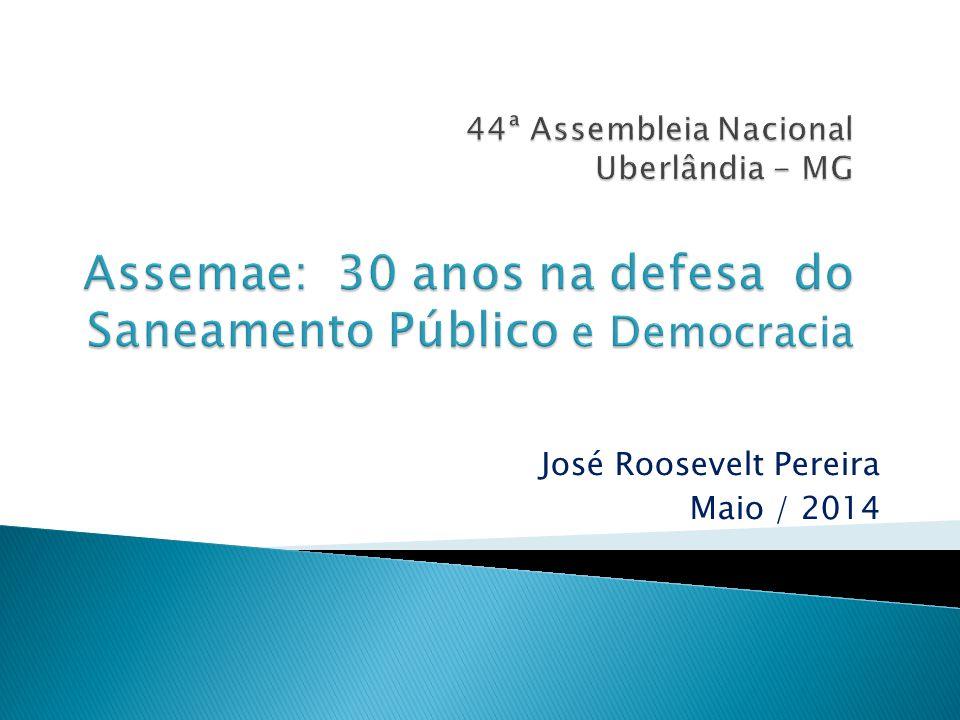 José Roosevelt Pereira Maio / 2014