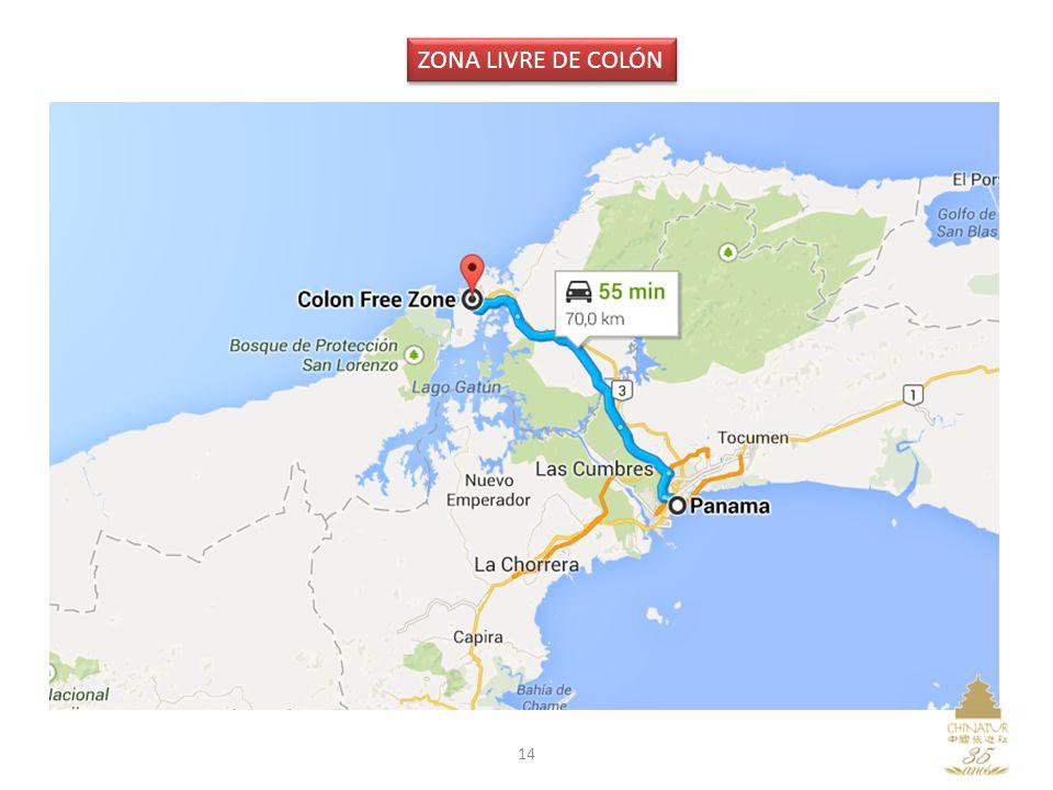 14 ZONA LIVRE DE COLÓN