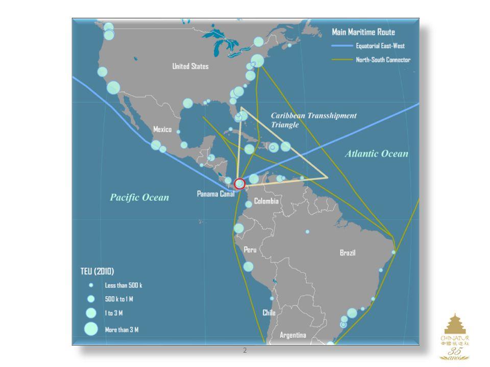 3 Mapa do Panamá