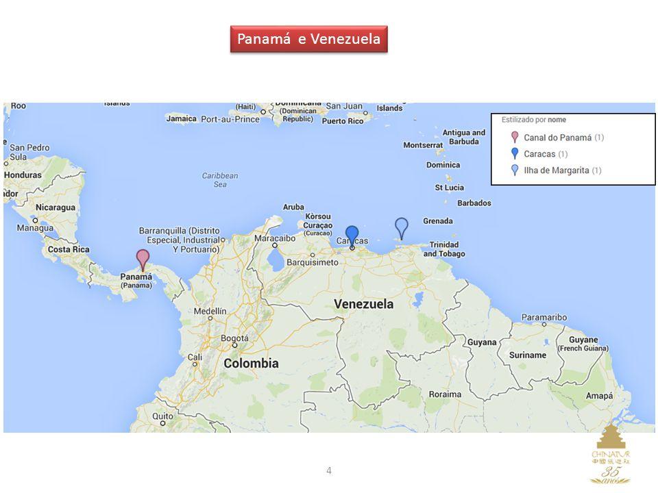 15 A segunda maior cidade do país, Colón, fica há aproximadamente 78Km da Cidade do Panamá, no litoral do Oceano Atlântico, e é destino certo para os turistas que querem comprar grande quantidade de mercadorias.