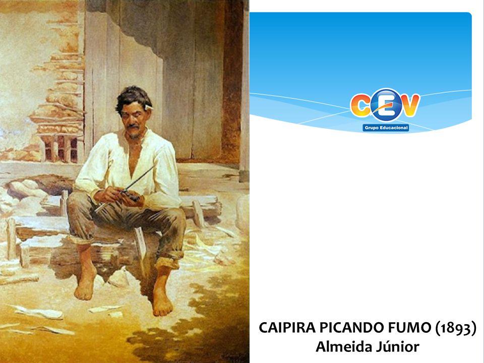 CAIPIRA PICANDO FUMO (1893) Almeida Júnior