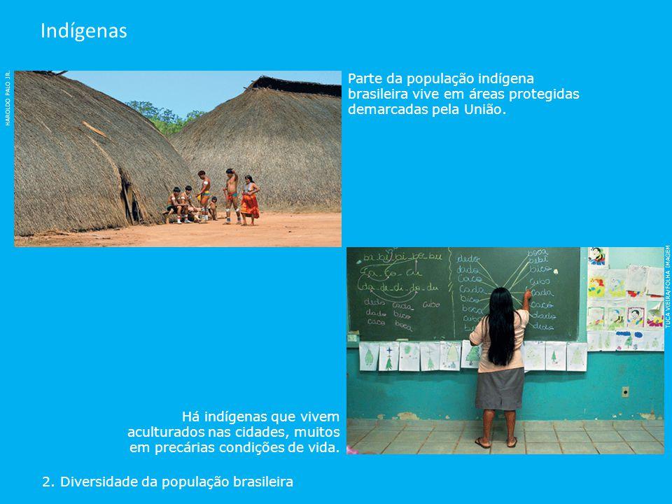 HAROLDO PALO JR. Parte da população indígena brasileira vive em áreas protegidas demarcadas pela União. TUCA VIEIRA/FOLHA IMAGEM Há indígenas que vive