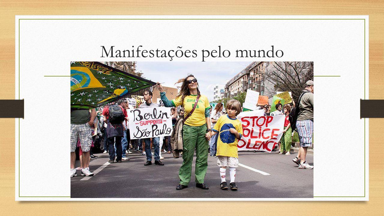Manifestações pelo mundo