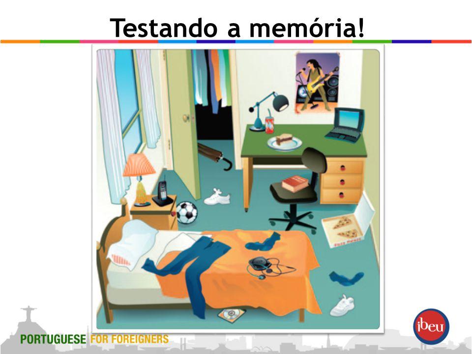 Testando a memória!