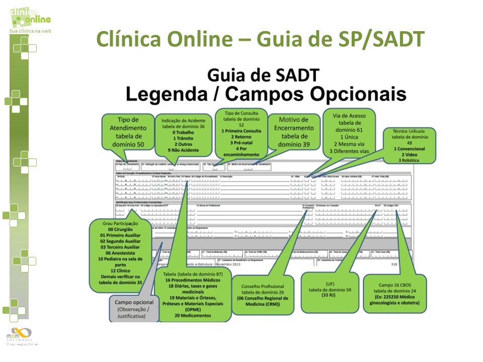 Sua clínica na web O seu negócio Online Clínica Online – Guia de SP/SADT