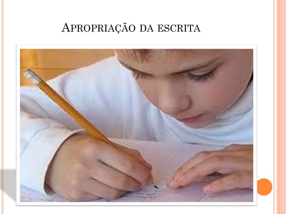 O processo da escrita inicia-se, antes de mais nada, da leitura de mundo que a criança faça dela!