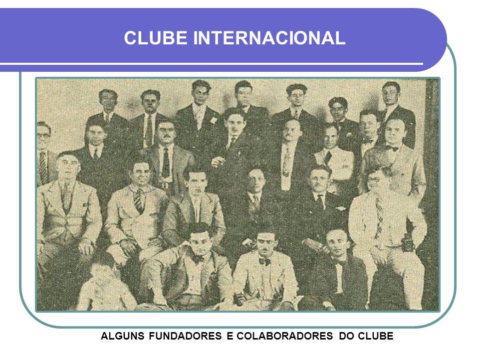 Passou a chamar-se Clube Internacional Cultural e Recreativo Em 1964 absorveu a Sociedade de Cultura Artística, com sede ao lado (detalhe) HOJE - SEDE