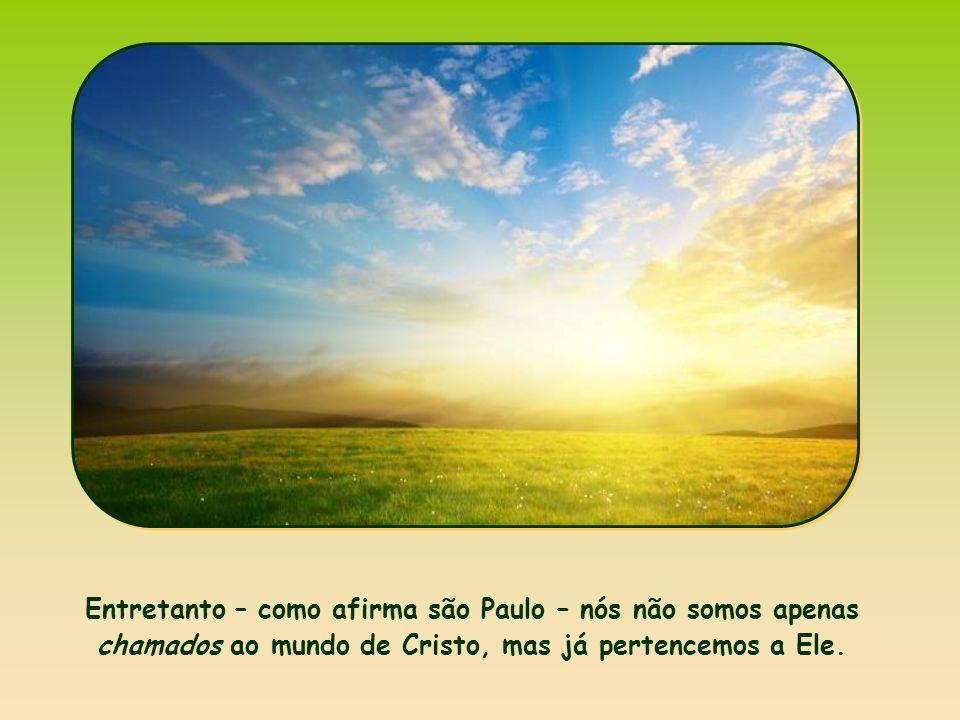 «Se ressuscitastes com Cristo, buscai as coisas do alto, onde Cristo está entronizado à direita de Deus».
