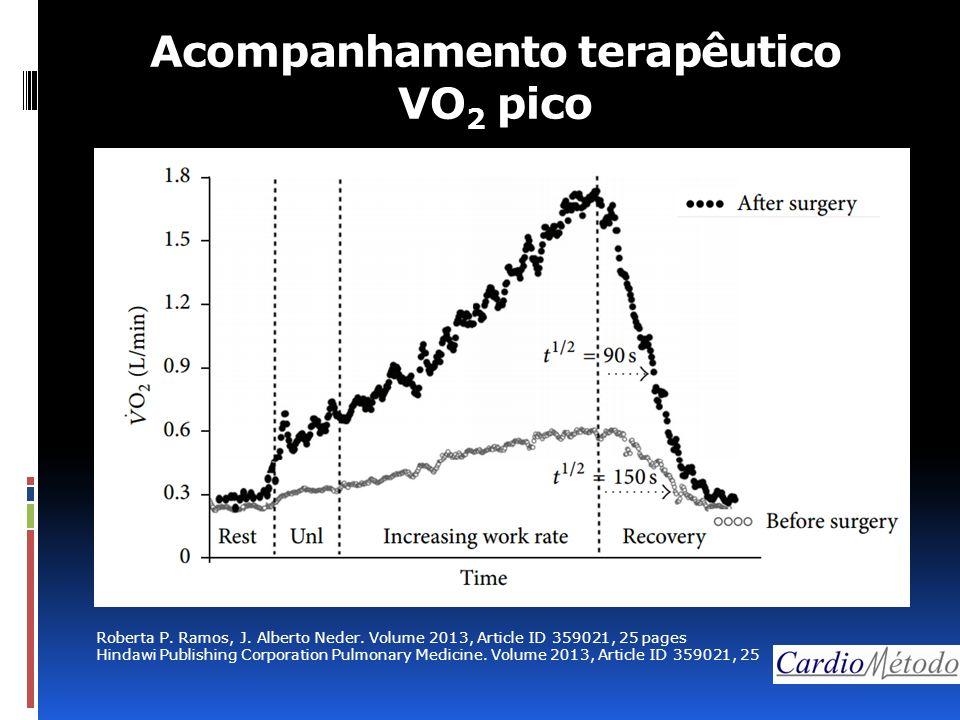 Acompanhamento terapêutico VO 2 pico Roberta P. Ramos, J.