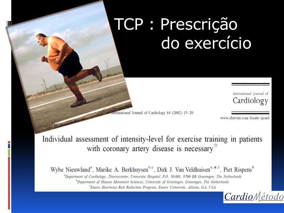 TCP : Prescrição do exercício