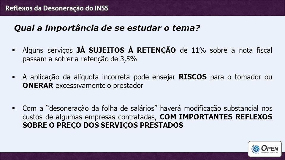 Custo previdenciário das empresas terceirizadas  Percentuais de contribuição para o INSS e Outras Entidades incidentes sobre a folha de salários Para o INSS Para Outras Entidades