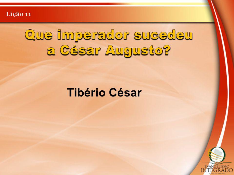 Tibério César