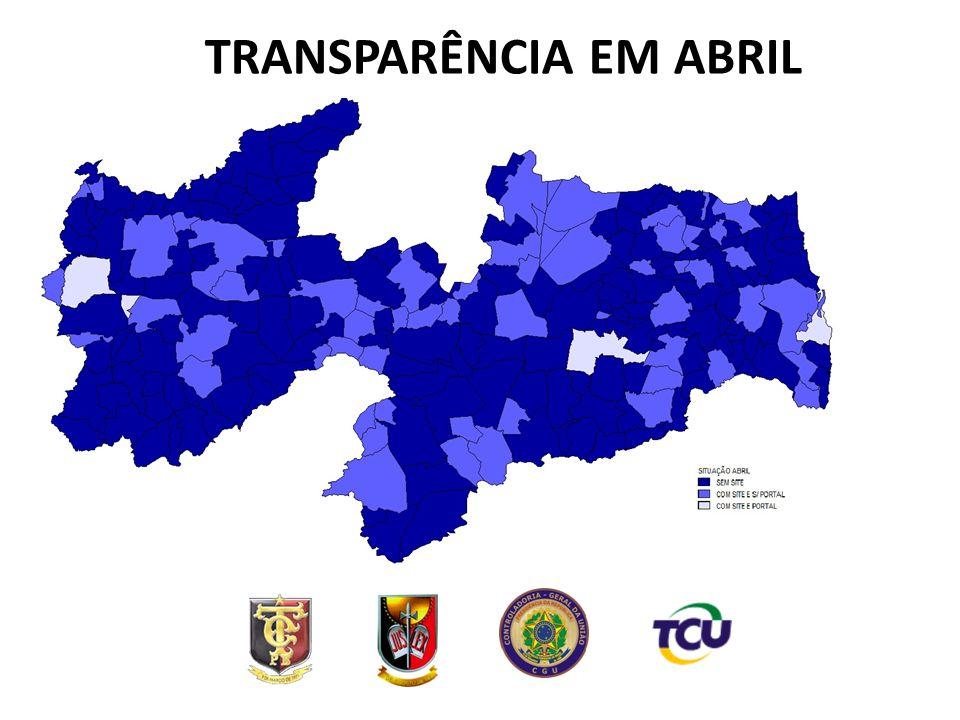 METODOLOGIA APLICADA  ÍNDICE DE TRANSPARÊNCIA ELABORADO E GENTILMENTE CEDIDO PELA ASSOCIAÇÃO CONTAS ABERTAS;  SOLICITAÇÃO DE INFORMAÇÕES ENVIADAS A TODOS PREFEITOS PELO TCE/PB;  COMISSÃO DE AVALIAÇÃO FORMADA POR SERVIDORES DA CGU, TCE E MPPB;  AVALIAÇÃO E REVISÃO REALIZADAS NO PERÍODO DE 12/11 A 02/12/2013.