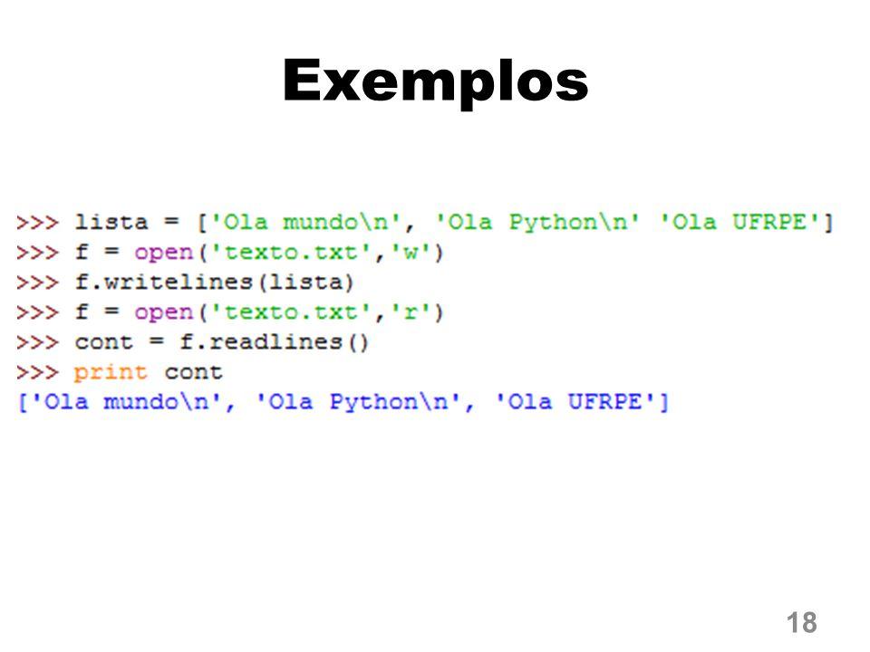 Exemplos 18