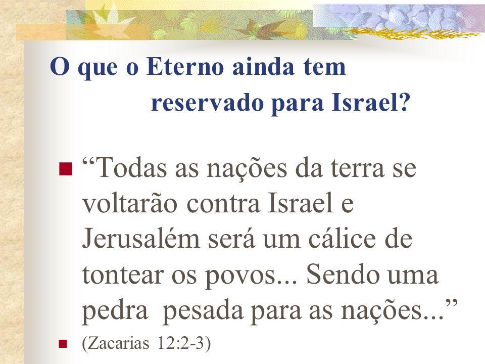 Irmãos, o bom desejo do meu coração e a oração a Elohim por ISRAEL é para sua salvação.