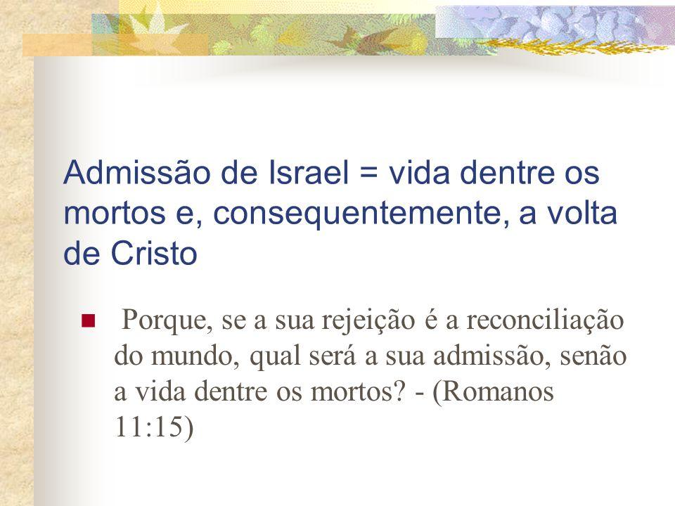 JERUSALÉM É A CIDADE ONDE O MESSIAS VOLTA E ESTABELECE O SEU REINO