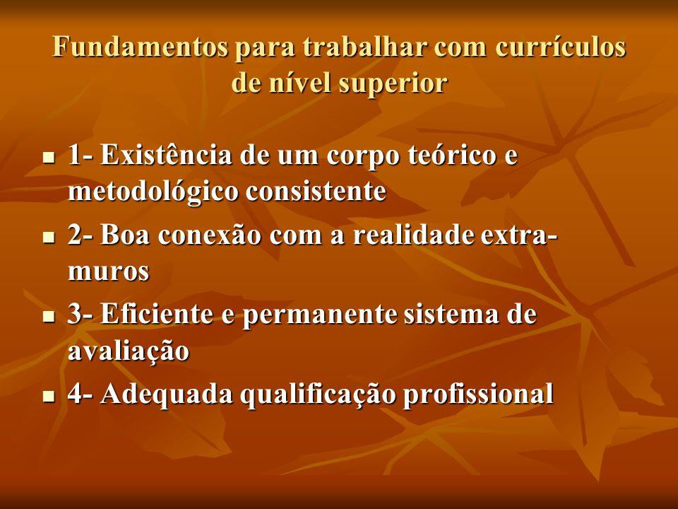 Aspectos centrais da reformulação curricular do curso de graduação em agronomia.