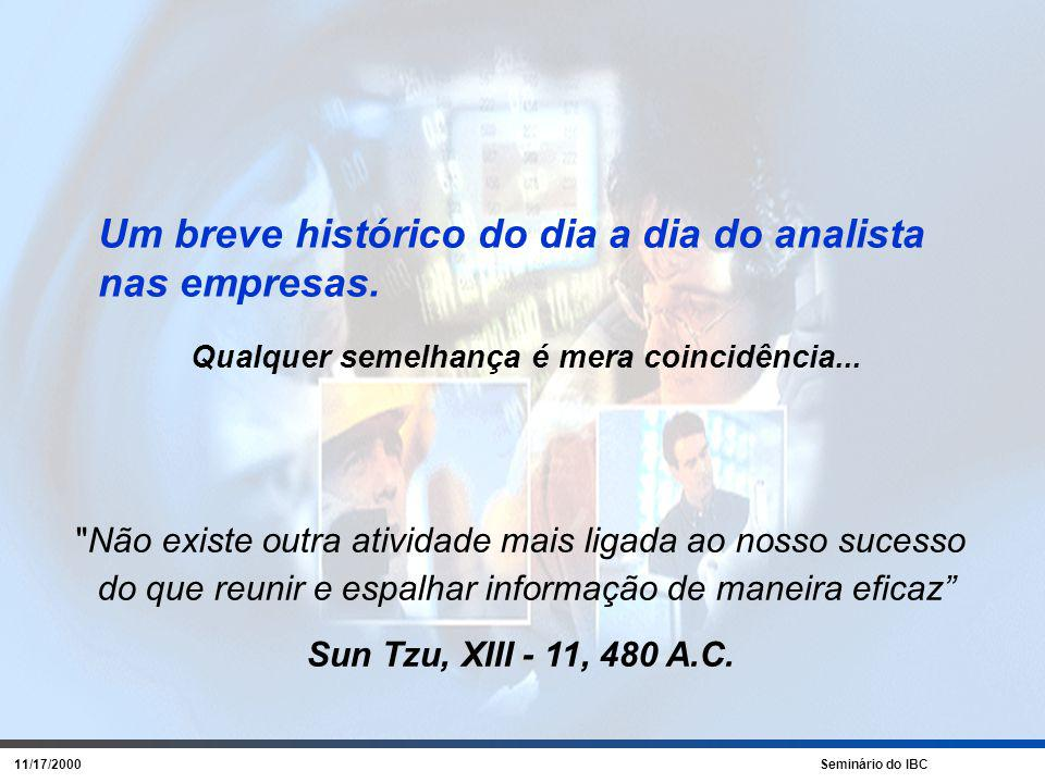 11/17/2000 Seminário do IBC BI