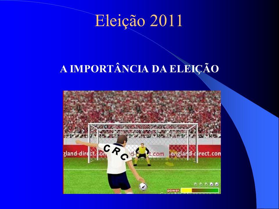 Eleição 2011 A IMPORTÂNCIA DA ELEIÇÃO