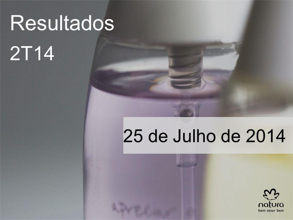 Resultados 2T14 25 de Julho de 2014