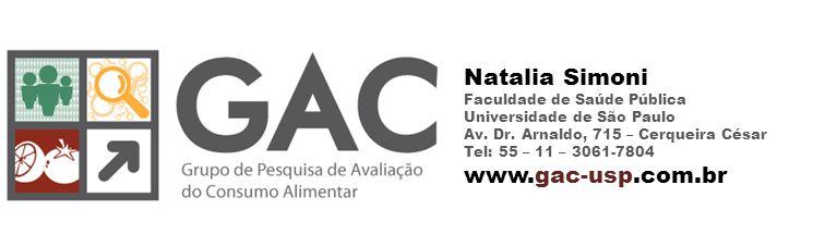 Natalia Simoni Faculdade de Saúde Pública Universidade de São Paulo Av.