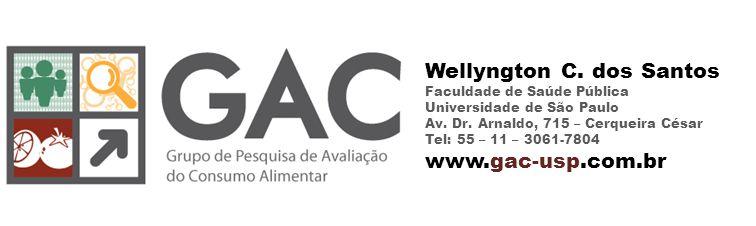 Wellyngton C. dos Santos Faculdade de Saúde Pública Universidade de São Paulo Av.