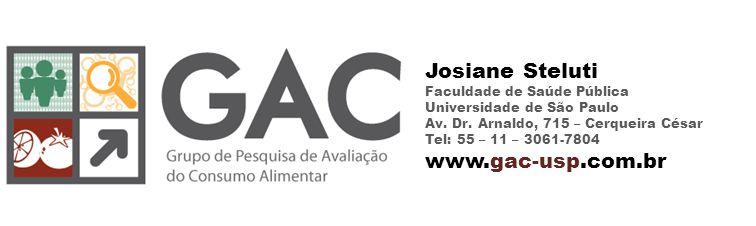 Josiane Steluti Faculdade de Saúde Pública Universidade de São Paulo Av.